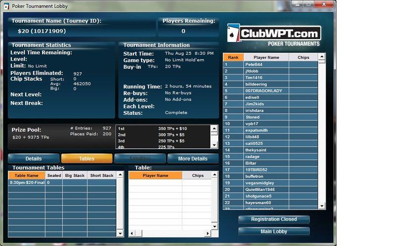 20 Tournament 8-25-2011